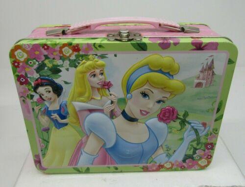 Disney Princess Collectible Metal Lunch Box