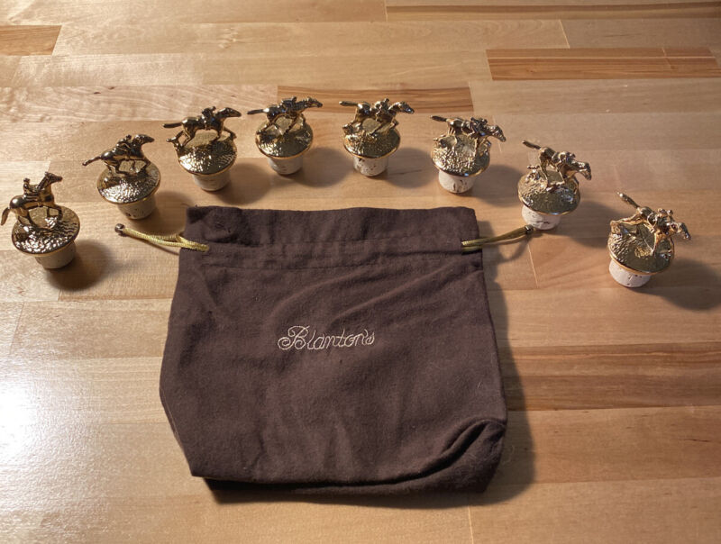 BLANTON'S GOLD STOPPERS Complete Set WITH BAG ***RARE*** BRAND NEW