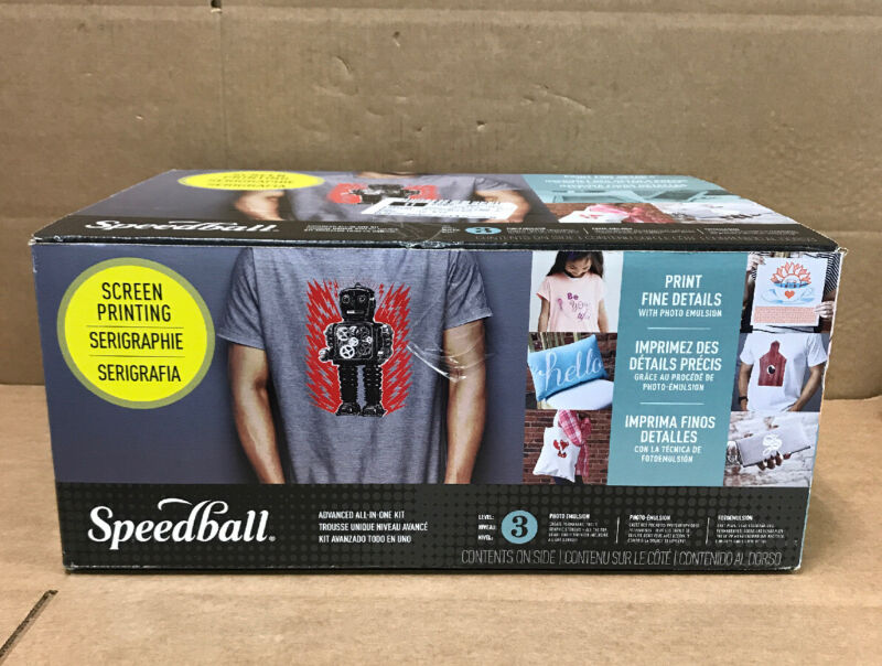 Speedball Advanced All-In-One Screen Printing Kit