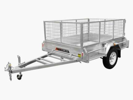 8×5 SINGLE AXLE BOX TRAILER FULLY WELDED HOT DIP GALVANISED Toowoomba Toowoomba City Preview