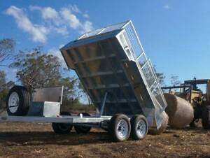 SALE! 10x6 10x5 8x5 Galvanised Hydraulic Tipper Box Trailer For Sale Coopers Plains Brisbane South West Preview