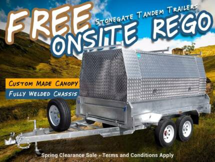 Tradesman Trailer FREE Rego! Pick up & Go, Spring Sale Now On