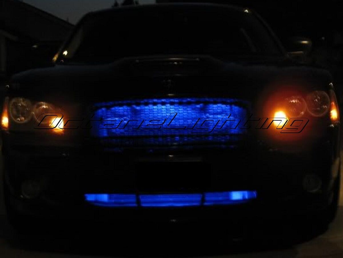 4 12 Quot Car Truck Rv 15 Blue Led Under Glow Waterproof Grill