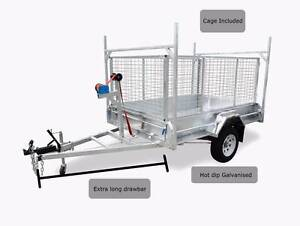 Brand New Trailer  8 x 5 caged 1400kg HD trailer - 1500 drawbar Cleveland Redland Area Preview