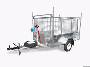 EOFY SALE 8x5 Heavy Duty Box Trailer 450mm High Sides ATM 1400kg Brendale Pine Rivers Area Preview