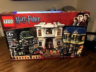 LEGO Harry Potter Diagon Alley 10217 Brand New In FACTORY SEALED Box NIB (2011)