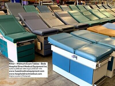 10 Exam Tables - Exam Beds Wholesale Package Deal