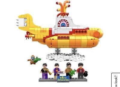 LEGO 21306 Ideas The Beatles Yellow Submarine 553pcs New Free Shipping