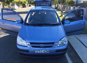 Hyundai Getz cheap clean long REGO!!! Parramatta Parramatta Area Preview