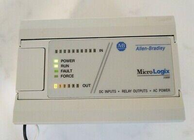 Allen Bradley 1761-l16bwa Ser E Frn 1.0 Micrologix 1000