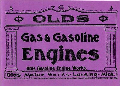 Olds Information Book Gasoline Engine Works Motor Lansing Michigan
