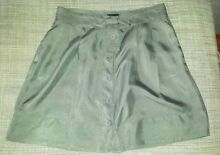 Witchery- Grey Silk skirt Size 12 Seventeen Mile Rocks Brisbane South West Preview