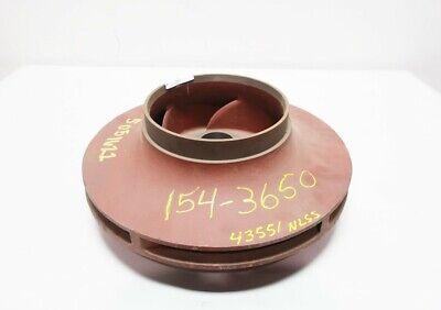 Berkeley L05156 1-58in B6exqbl Bore 5 Vane Cast Iron Centrifugal Pump Impeller
