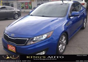 2012 Kia Optima EX Turbo, LEATHER, PANORAMIC SUNROOF