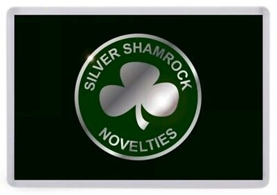 Silver Shamrock Novelties Fridge Magnet. NEW Inspired by Halloween III / 3 (Silver Shamrock Halloween)