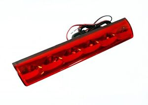 truck cap, topper 3rd brake light, red, recessed | atc at-led