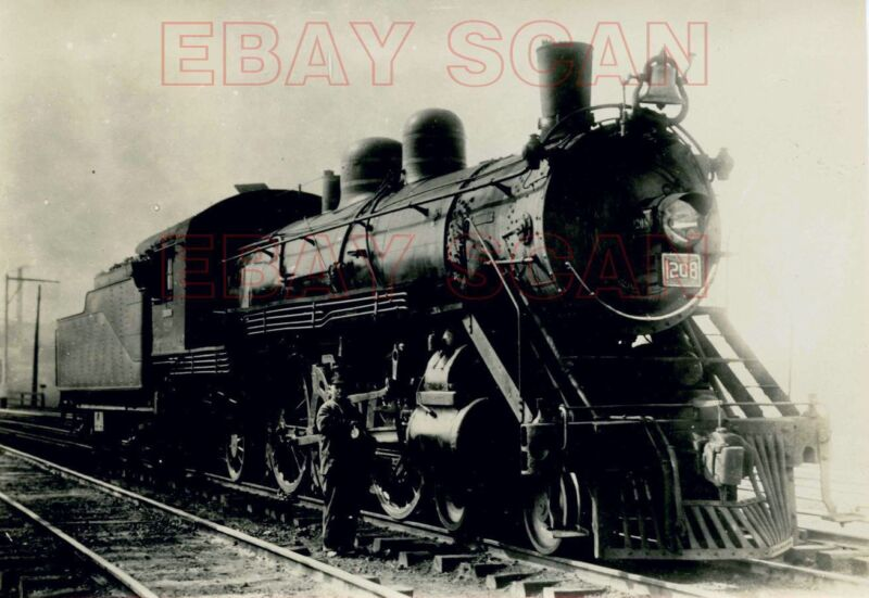 8CC089 2NDGEN? RP 1930s? SOUTHERN RAILROAD ? ENGINE #1208