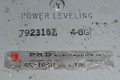 792315z Harrisprd Elec. Power Leveling Directional Coupler 4-8gc Used