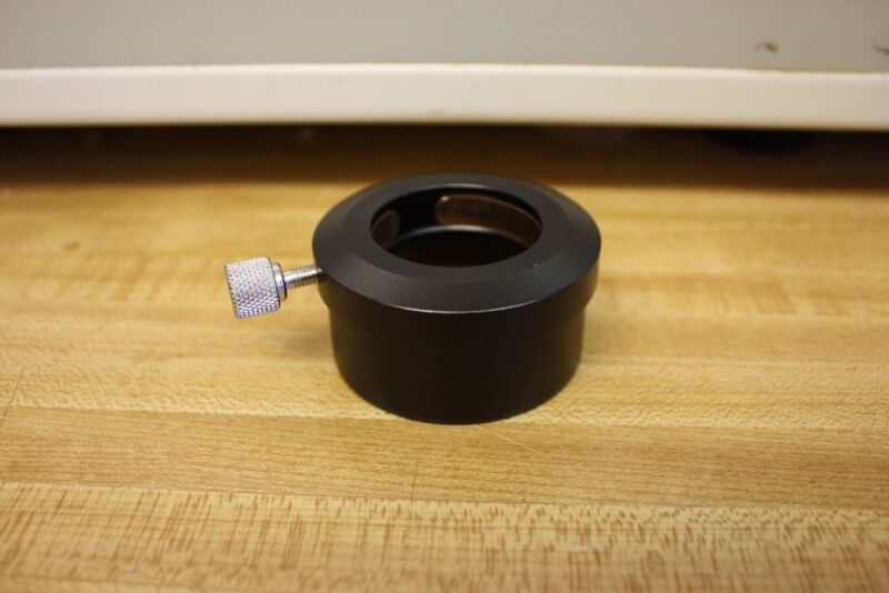 """Telescope 2"""" to 1.25"""" Deluxe Anodized Alum Adapter with Brass Compression Ring"""