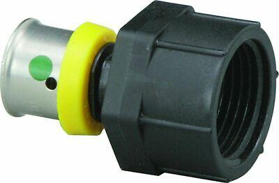 Viega 49233 12-inch Pureflow Plastic Pex Press Closet Adapter Lot Of 7