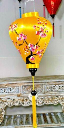 YELLOW BLOSSOM LANTERN,Hoi Ann Lantern, Asian Garden Lantern,Traditional Lantern