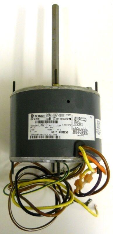 GENERAL ELECTRIC MOTORS 5KCP39FGL782S, 1/4 HP, 60 Hz, 1075 RPM