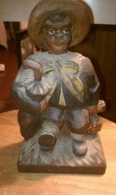 Metallobjekte Bronzefigur Turner Von 1931