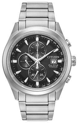 Citizen Eco-Drive Men's CA0650-58E Chandler Chronograph Titanium 43mm Watch