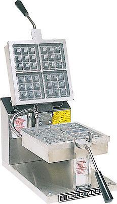 Gold Medal 5024 Belgian Waffle Baker Machine Maker