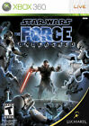 Star Wars: The Force Unleashed Microsoft Xbox 360 Video Games