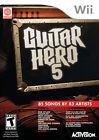 Guitar Hero Nintendo Wii Video Games