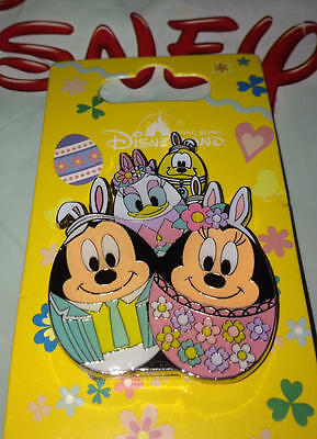 Hong Kong Disneyland Easter Egg Pin  2017 Mickey & Friends NEW