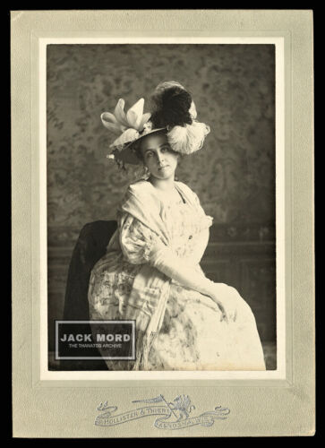 Rare Signed 1898 Photo Mary Lowther Ranney Architect & Founder Westridge School