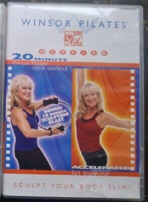 WINSOR PILATES 20 MIN SCULPT YOUR BODY SLIM DVD FITNESS