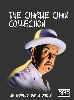 Charlie Chan Collection 36 Full Length Movies   8 Dvds