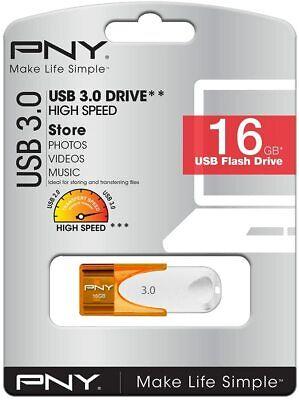PNY PENDRIVE 3.0 16GB 16 GB FLASH MEMORY MEMORIA USB 80 MB/s