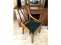 beautiful antique chair vintage mid century arts and crafts