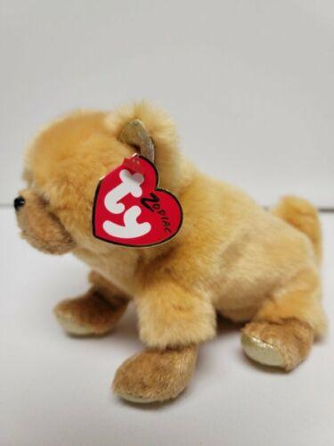 """Ty Beanie Babies Chinese Zodiac Dog -MWMT-Soft & Cuddly Body-6""""-15cm"""
