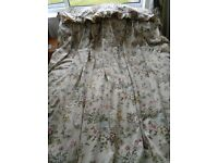 CURTAINS - CROWSON FABRIC VINTAGE FULLY LINED CURTAINS