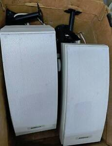 2 Bose 251 Environmental Speakers with wall mounts White Graceville Brisbane South West Preview