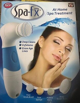 Spa-fx Spin Spa Cleansing Facial Brush As Seen On TV