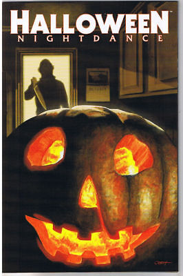 HALLOWEEN NIGHTDANCE #1 Glows, VF, Horror, Slasher, 2008, more in store ()