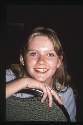 Kirsten Dunst young candid smiling portrait Original 35mm Transparency