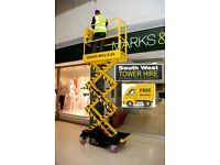 Scissor Lift Hire in Bristol & Bath - South West Tower Hire