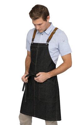 Chef Worksurban Apronberkeley Apron With Suspendersnip Indigo Denim