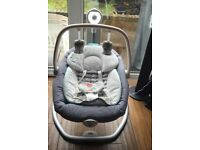 serina 2 in 1 baby swing immaculate condition