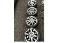 BMW m3 e46 alloys Original wheels all good tyres remember not copys