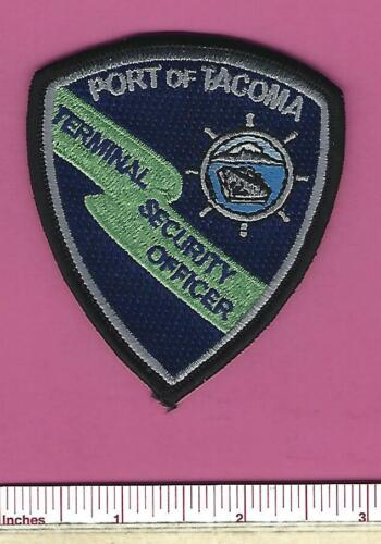 Port Tacoma Washington State WA Terminal Security Officer Police Cap / Hat Patch