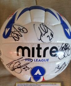 Norwich City FC 06/07 Signed Official Football League Ball