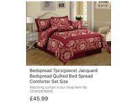 7 piece bedspread